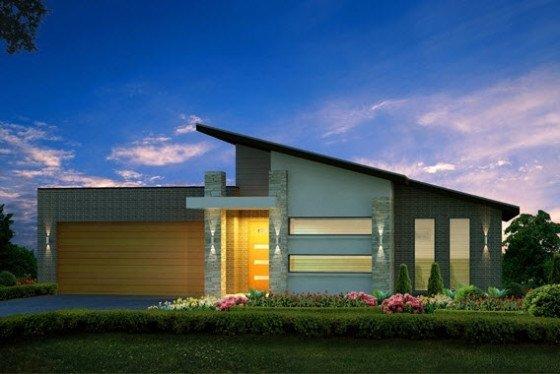 Planos de casas de 1 piso modernas viviendas for Casa moderna 1 piso