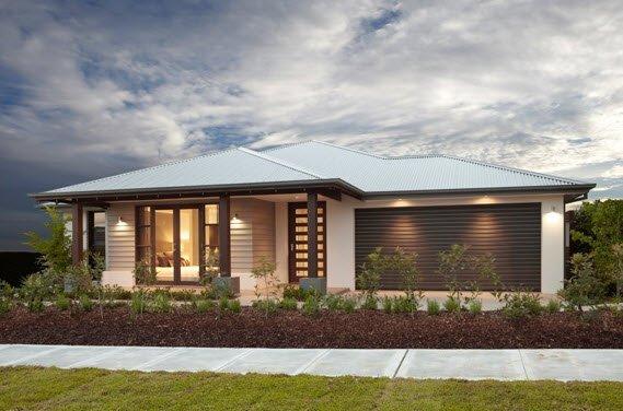 Planos de casas de 1 piso modernas viviendas for Fachada de casa moderna de un piso