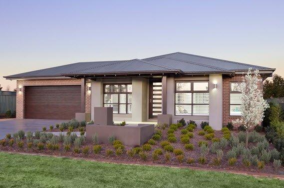 Planos de casas de 1 piso modernas viviendas for Modelos de casas de madera de un piso