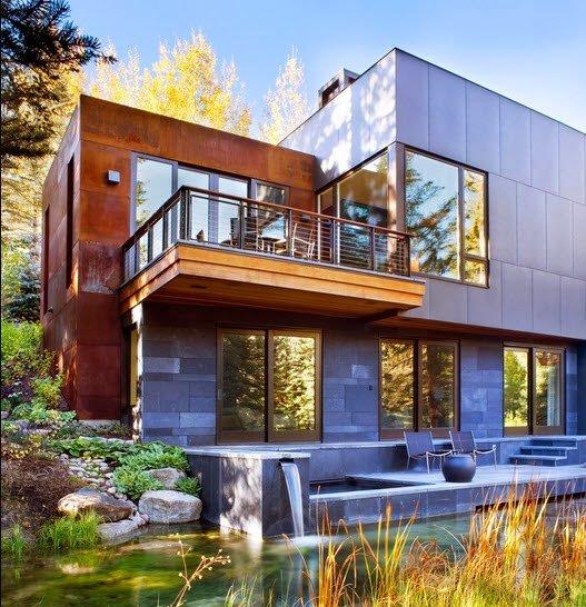 Fachadas de casas de lujo dise o y estilo - Casas modulares de lujo ...
