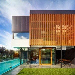 Fachadas de casas de lujo por Steve Domoney Architecture