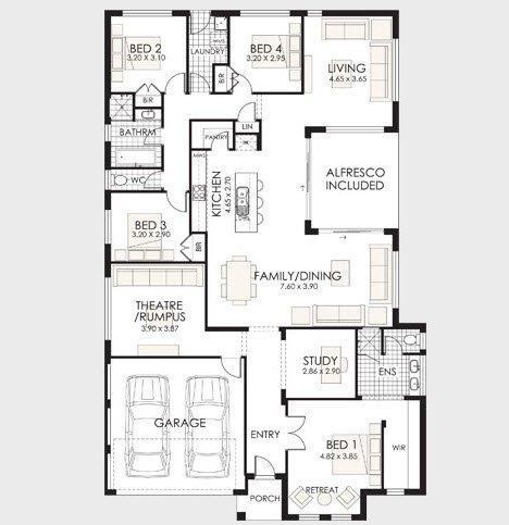 Planos de casas de 1 piso modernas viviendas for Arquitectura de casas modernas planos