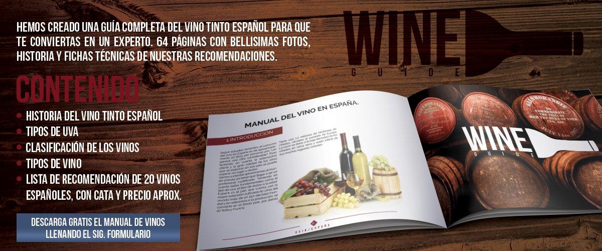 Descarga gratis guia de Vinos Tintos españoles