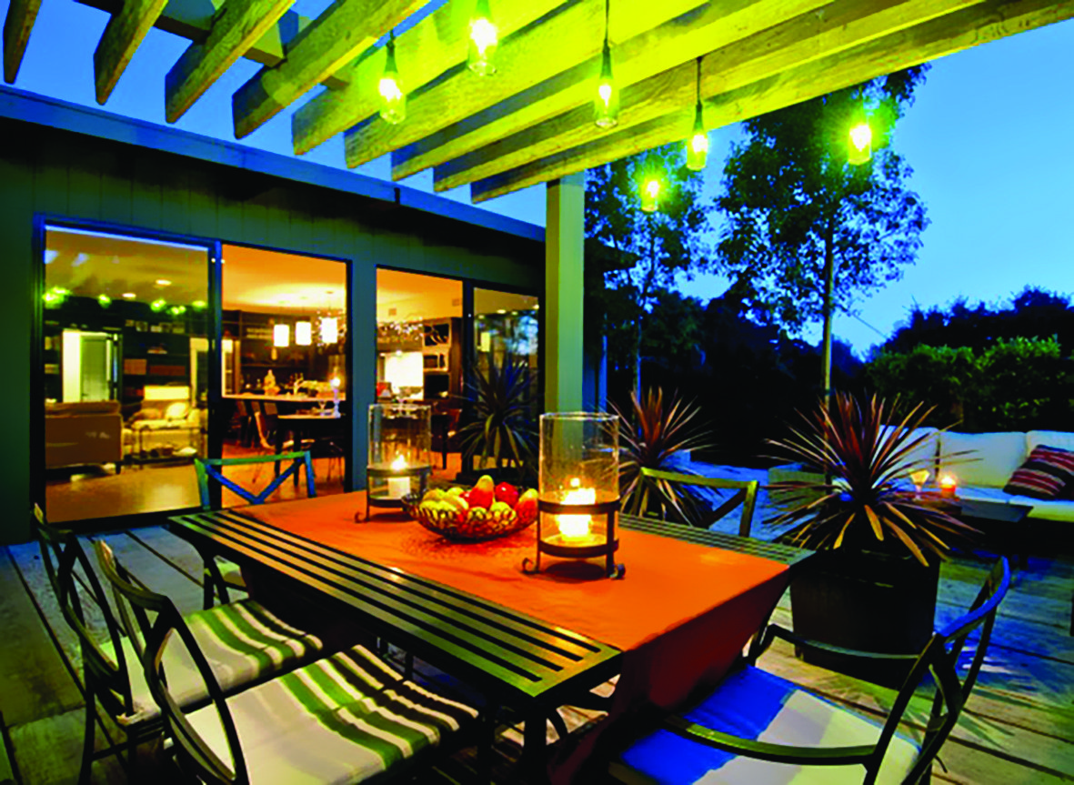 Ideas para decorar exteriores en primavera - Luces de terraza ...