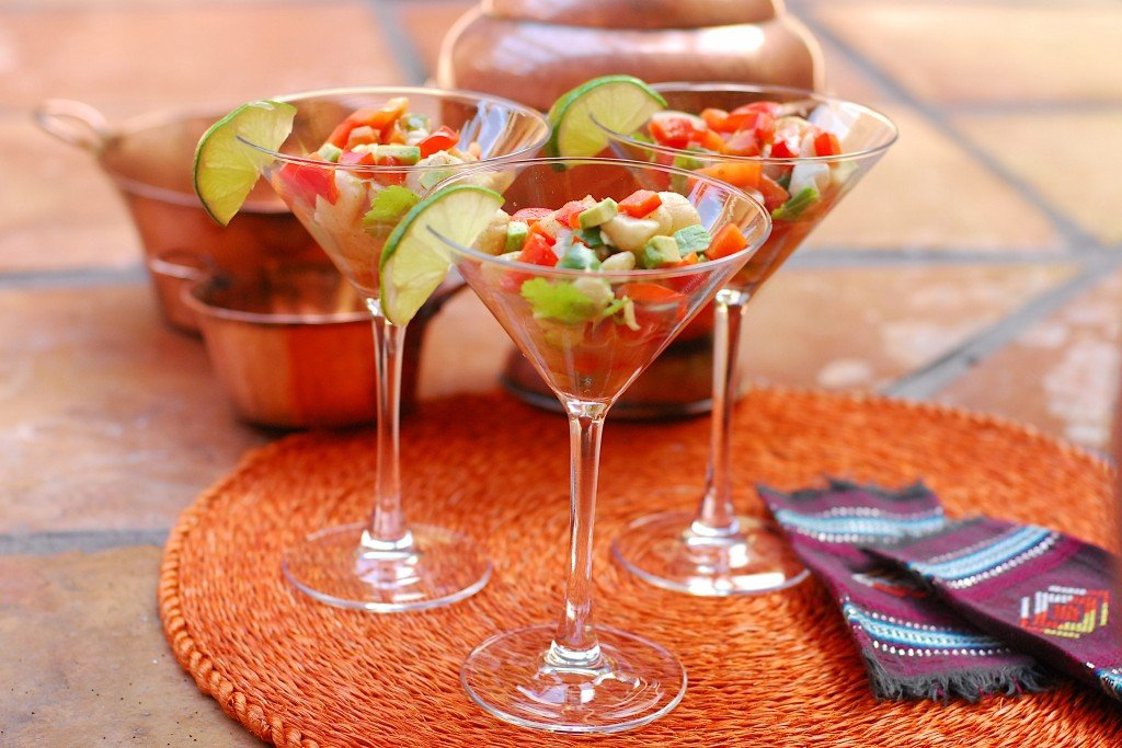 Spicy-scallop-ceviche-with-avocado-and-lime