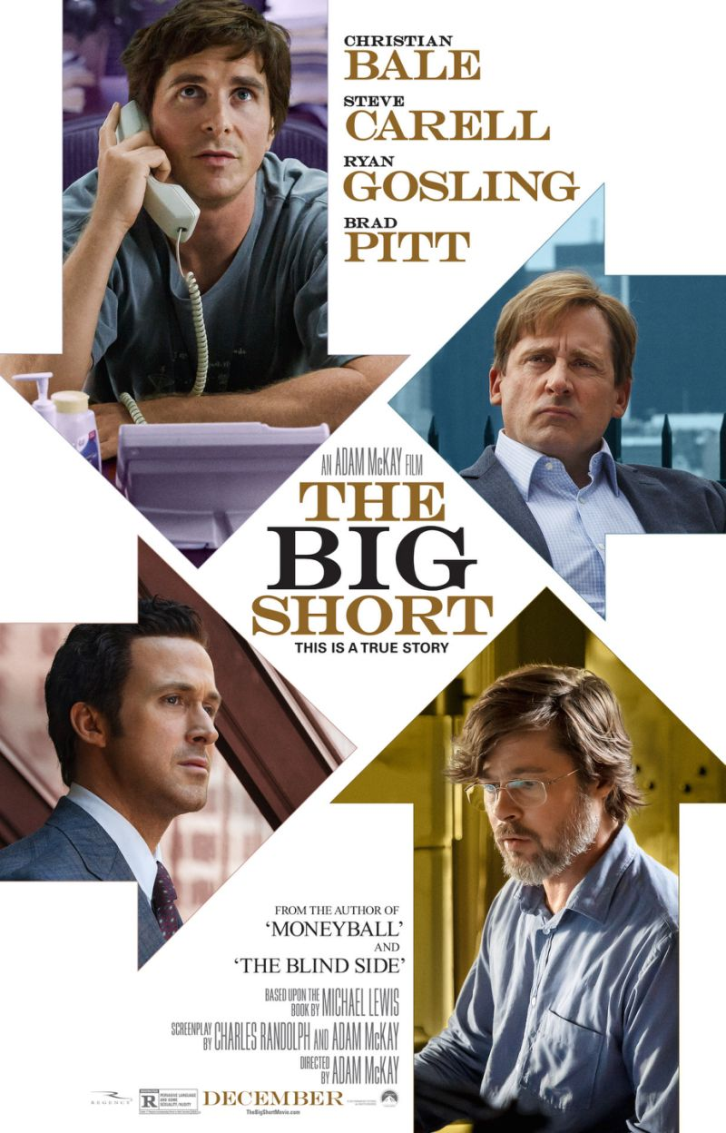 The Big Short La Gran Apuesta Poster Cineclub Estrenos Enero 2016