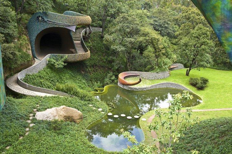 Arquitectura Orgánica Mexicana de Javier Senosiain