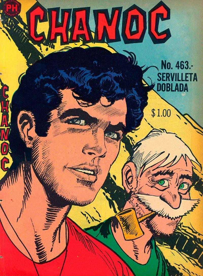 Chanoc Epoca de oro de las historietas Mexicanas