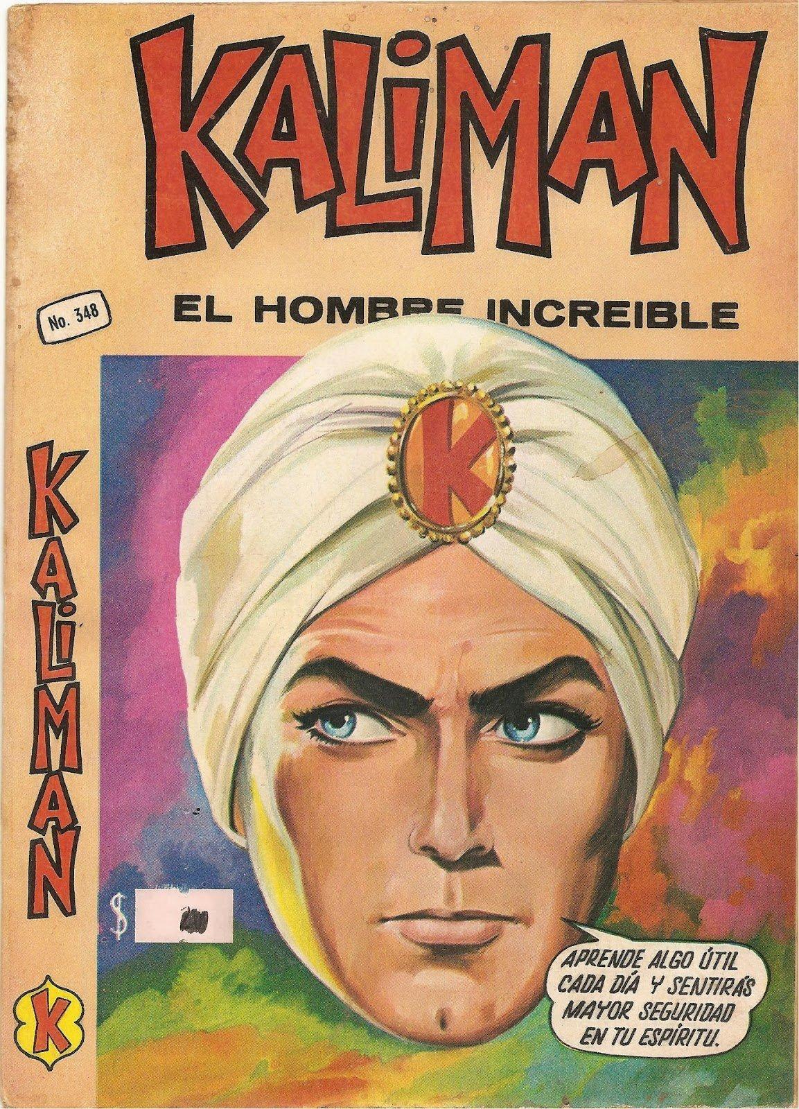 Kaliman Epoca de oro de las historietas Mexicanas