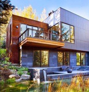 Fachadas de casas de lujo por Alan Tanksley, Inc.