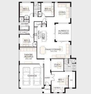 Plano-de-casa-de-un-piso-1