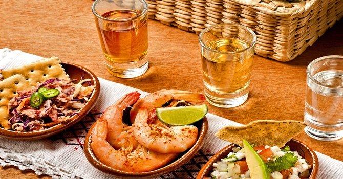 Maridaje de Tequila Gourmet de México
