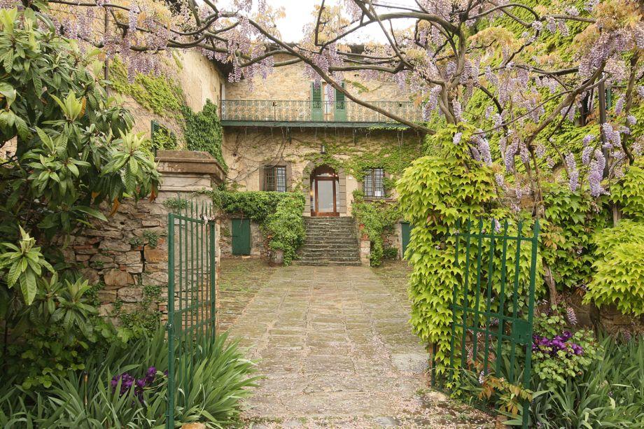 Toskana-Podere-Villa-Antica-Eingang-1