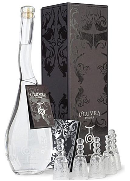 Guia de Regalos: Vinos y Licores para navidad U'LUVKA VODKA