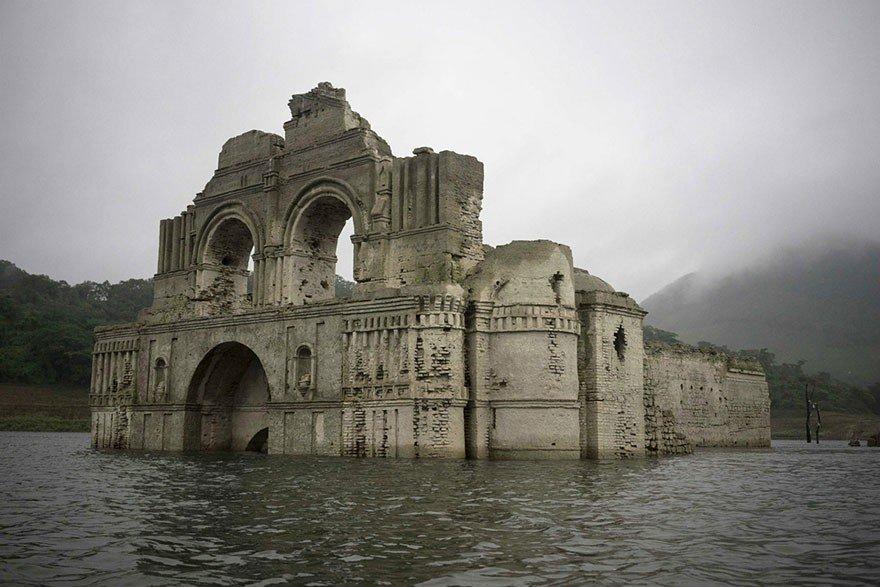 Templo Quechula Chiapas, 400 años historia