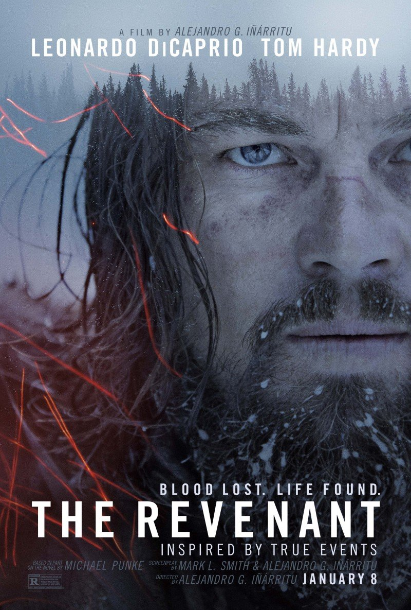 Cineclub Estrenos Enero 2016 The Revenant Poster
