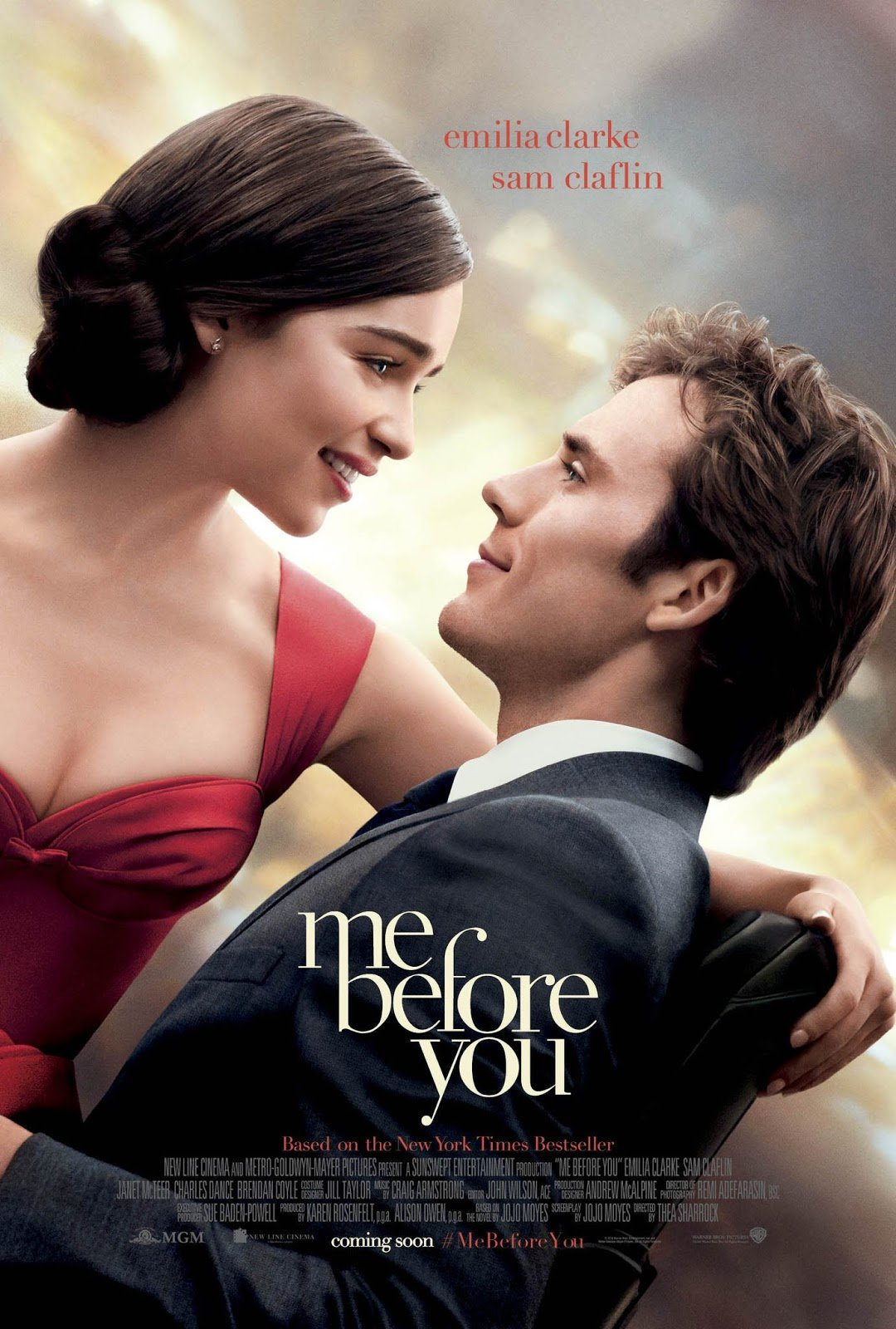 poster pelicula yo antes de ti me before you