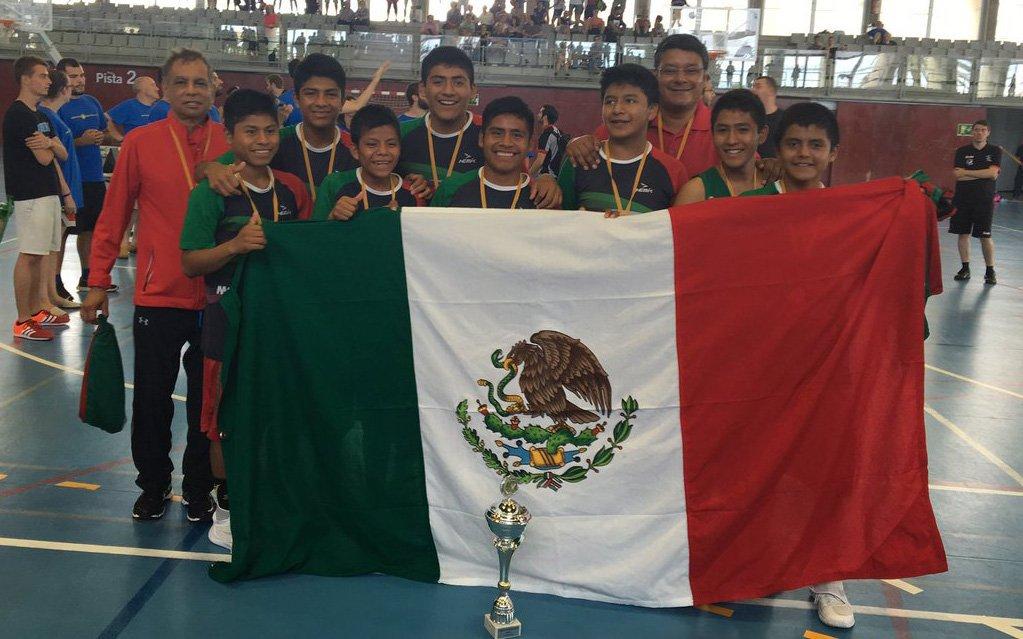 Niños Triquis ganan la copa Barcelona 2016 de Basquetbol
