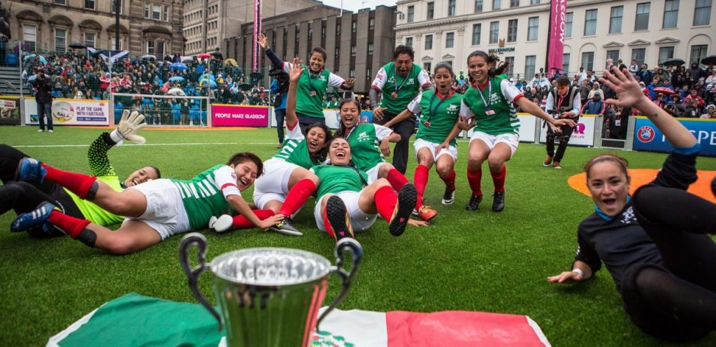 Mexicanos Ganan Homeless World Cup