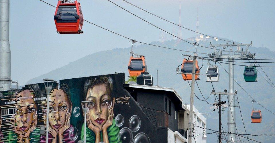 Sistema Teleférico Mexicable Ecatepec