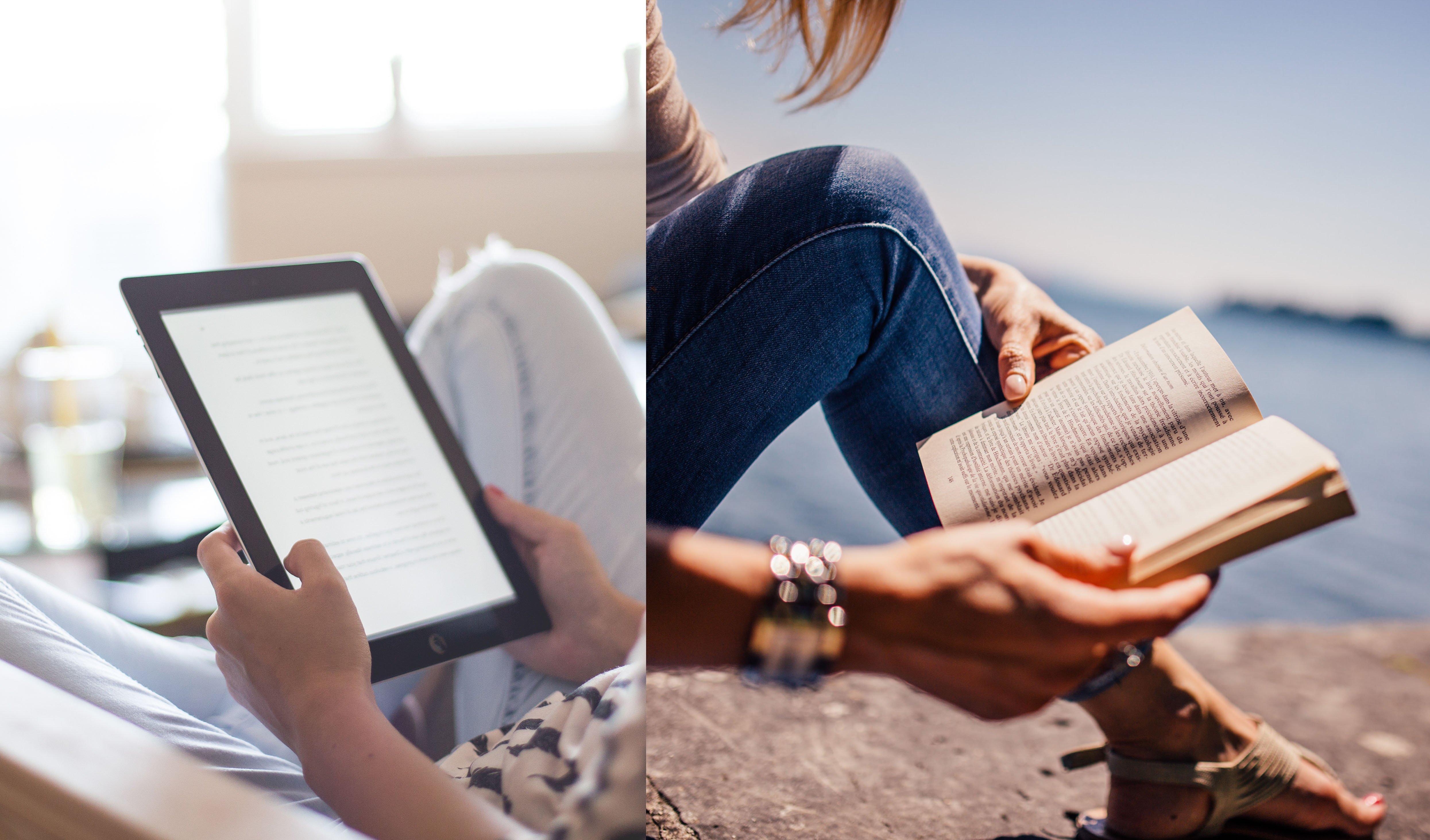 libros vs ebooks