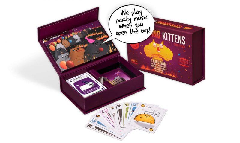 Guía de regalos Navidad 2019 - Exploding kittens